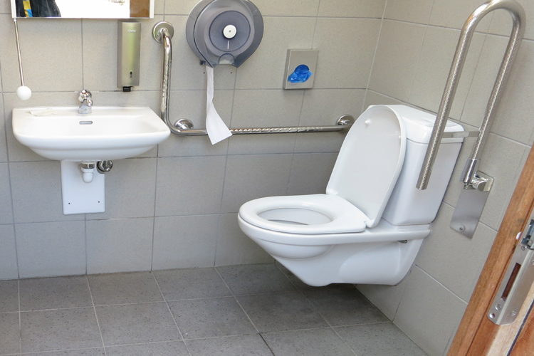 WC Rastplatz