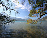 Die Weissenau bei Interlaken