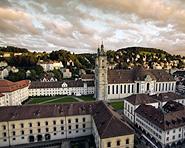 Quartier de l'abbaye de St-Gall