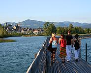 Rapperswil-Hurden Wooden bridge