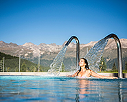 Water park and spa in Pontresina
