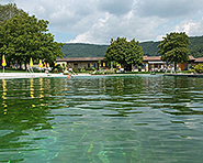 Natural swimming baths Beringen