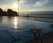 Outdoor pool Colovray in Nyon