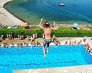 Schwimmbad Nid-du-Crô Neuenburg