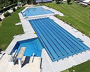 Outdoor swimming pool de la Fleur-de-Lys Prilly