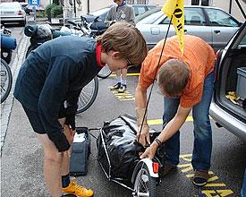 Mit drei Kindern von Romanshorn nach Lausanne