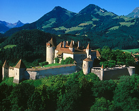 Castel of Gruyères