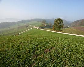 Dans le Jura entre l'Aar et le Rhin