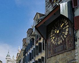 La torre dell'orologio di Soletta