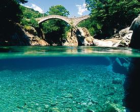 Ponte dei Salti à Lavertezzo