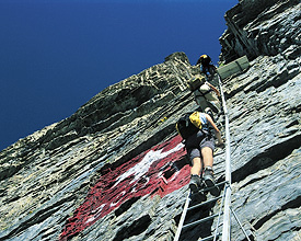 Klettersteig Tessin : Klettersteig beschreibung sulzfluh