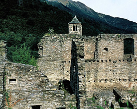 Site fortifié de Mesocco