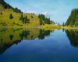 Il lago Lioson
