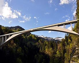 Salginatobelbrücke, Prättigau