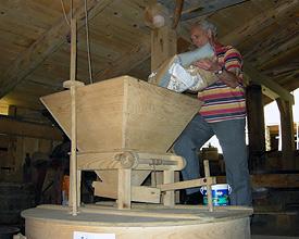 Die alten Mühlen von la Tine