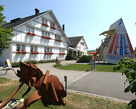 Appenzell tourist cheese factory