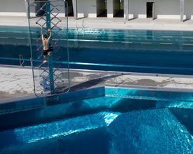 Bathing complex Oberi Winterthur