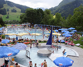 Outdoor baths Saanen