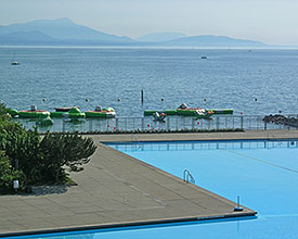 Bellerive outdoor pool in Lausanne