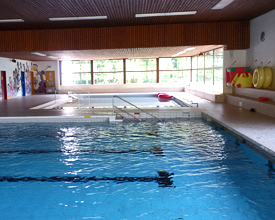 L'Orval indoor swimming pool in Valbirse
