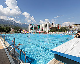 Piscina all'aperto la Blancherie Sion
