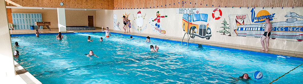 Veysonnaz indoor swimming pool