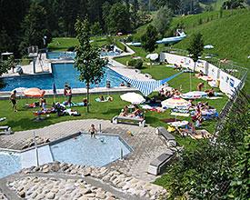 Outdoor swimming baths Wolhusen