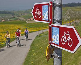 La Route du Cœur à vélo