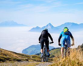 Tour in mountain bike in Svizzera centrale