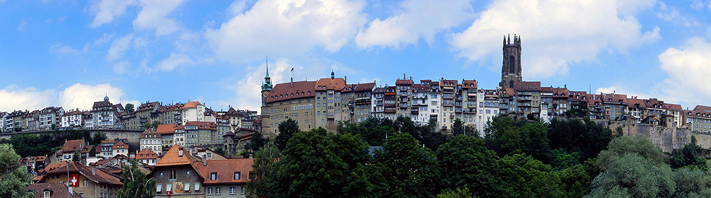 Freiburg (Fribourg) - Wanderland