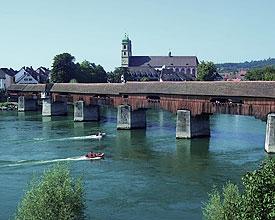 Rheinbrücke: Artère vitale de Säckingen