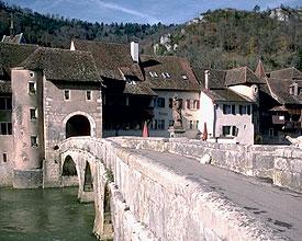 Doubs-Brücke St-Ursanne