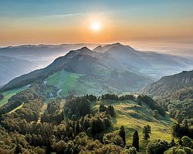 5 Sentiero in cresta del Giura: Solothurn - Couvet