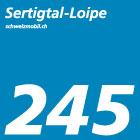 Sertigtal-Loipe