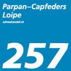 Parpan-Capfeders-Loipe