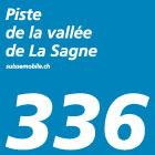 Piste de la vallée de La Sagne