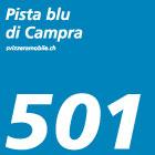 Pista blu di Campra