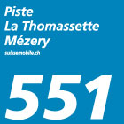 Piste La Thomassette–Mézery