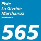 Piste La Givrine–Marchairuz