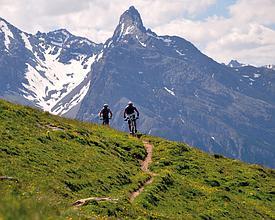 Mountainbiken Motta Naluns