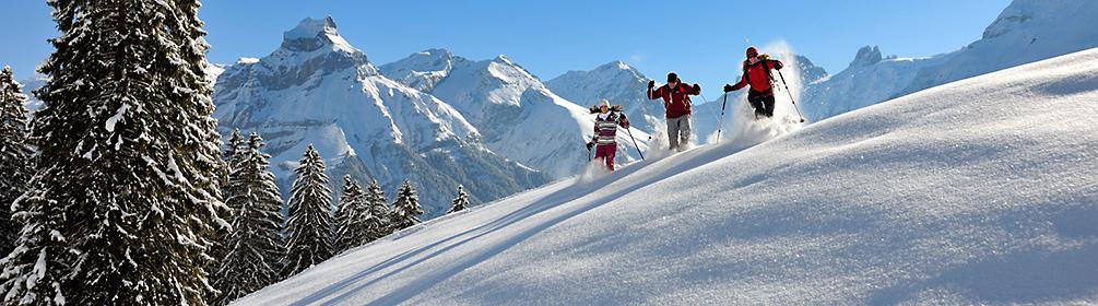 Schneeschuhtrail Gerschnialp