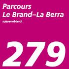 Parcours Le Brand–La Berra