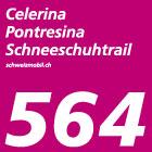 Celerina-Pontresina-Schneeschuhtrail