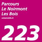 Parcours Le Noirmont–Les Bois