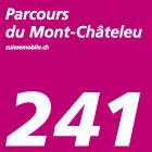 Parcours du Mont Châteleu