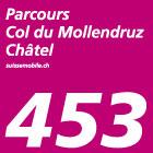 Parcours Col du Mollendruz–Châtel