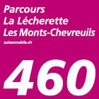 Parcours La Lécherette–Les Monts-Chevreuils
