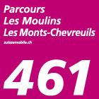 Parcours Les Moulins–Les Monts-Chevreuils
