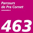 Parcours de Pra Cornet