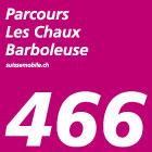 Parcours Les Chaux–Barboleuse